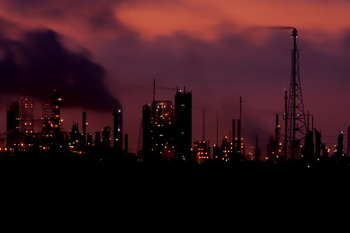 sunrise texas baytown houston refinery exxon photomix