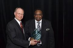 Jeffrey A. Ernico and Award Recipient  Joseph J. Watts