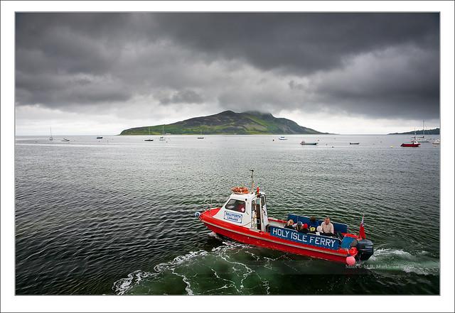 Holy Isle Ferry - Arran