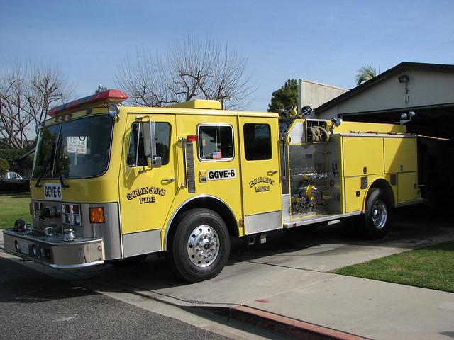 Garden Grove Fire Dept Paramedic Engine Flickr Photo Sharing