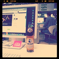 Good start in the day with some Club Mate #clubmate #soda