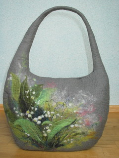 the bag. lily of the valley