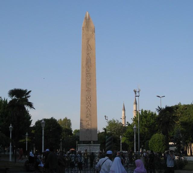 Obelisk of Theodosius  Flickr - Photo Sharing!