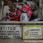 Flowers, Plaques and Offerings - Santa Ana, El Salvador