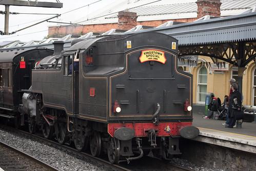 Dublin Kingstown railway photo