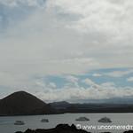 Docked Yachts at Bartolome Island - Galapagos