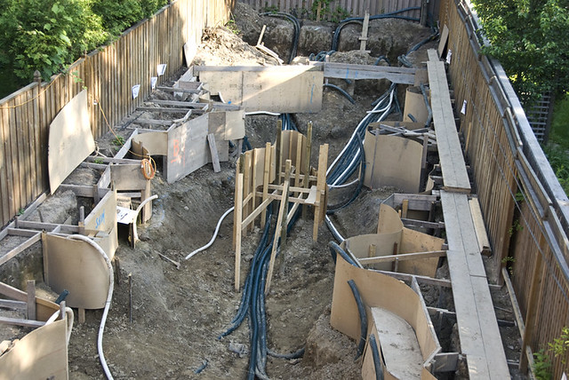 Koi Pond Construction Plumbing 1 Flickr Photo Sharing
