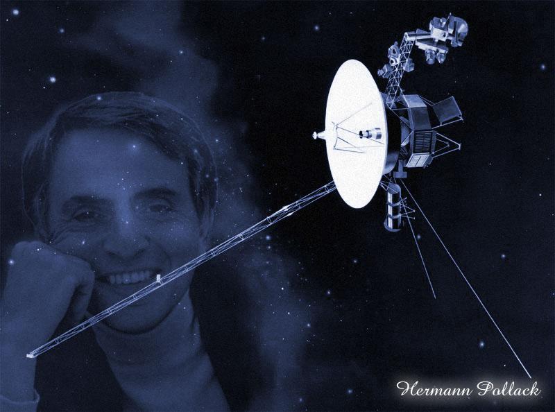 Sagan y el Voyager