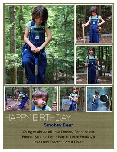 poster Smokey bear  677