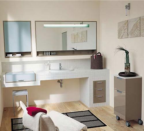 Baños Residenciales Modernos:Bathroom Wall Tile Ideas