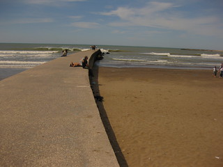 Image of Punta Iglesia Beach with a length of 411 meters. beach best mardelplata