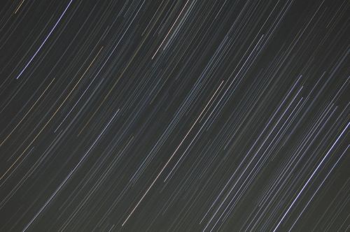 20091019オリオン座流星群(比較明合成)