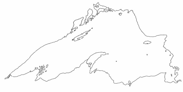 michigan great lakes coloring pages - photo#20