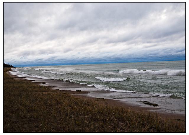 Lake Michigan in October