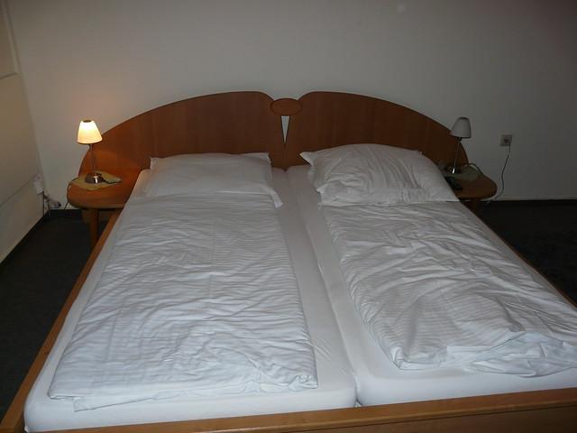 Saarbrucken Germany  City pictures : Saarbrucken German hotel bed | Flickr Photo Sharing!