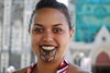 Maori Dancer in Cathedral Square