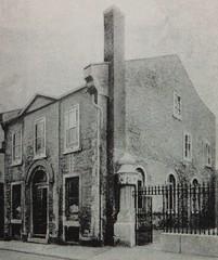 Vieux Montréal vers 1890. Chapelle méthodiste, rue Saint-Sulpice.