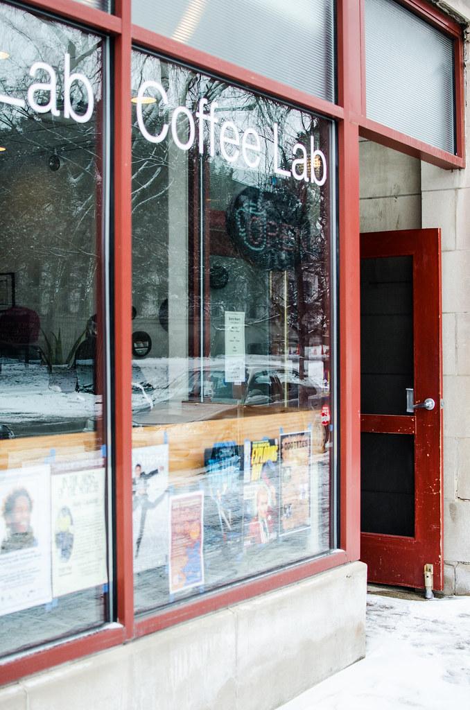 Coffee lab exterior