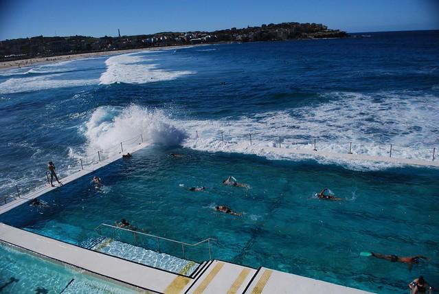 Photo - Public salt water swimming pools melbourne ...