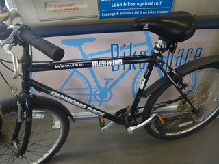 I got the Bart bike space