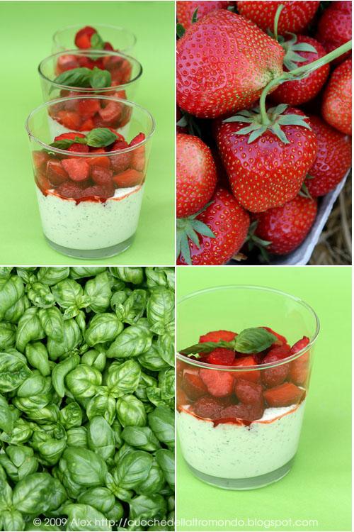 biskuitrolle mit erdbeeren und basilikum limetten creme foto e fornelli. Black Bedroom Furniture Sets. Home Design Ideas