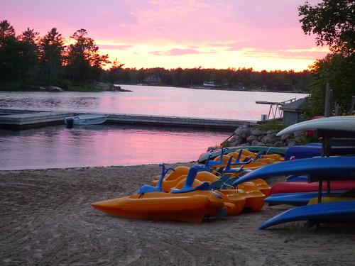 sunset kayak eyefi