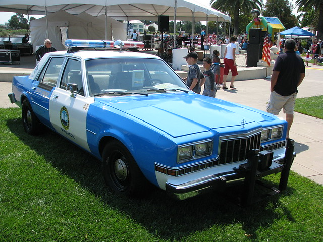 1980's Dodge Suisun City Police Car #43 1