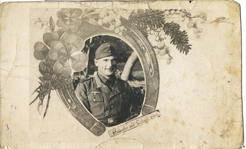Andenken aus Saloniki 1944...