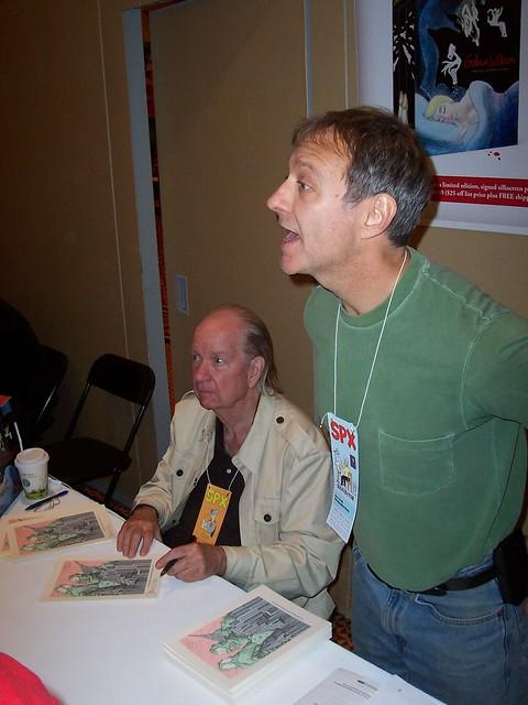 100_8124 Gahan Wilson and Gary Groth