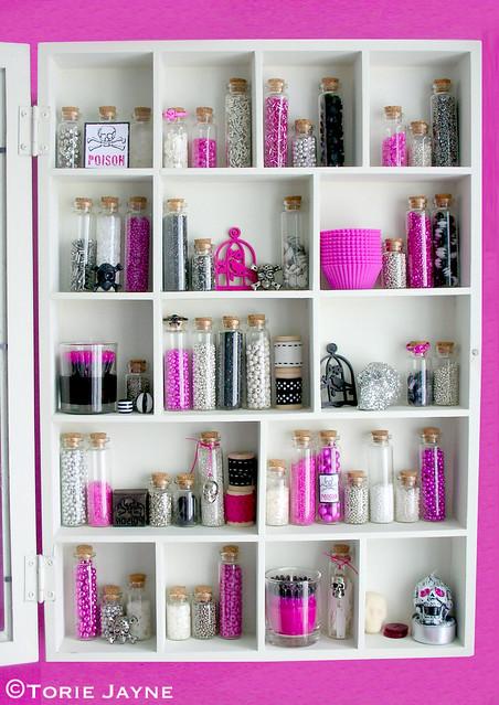 Halloween Curio Cabinet