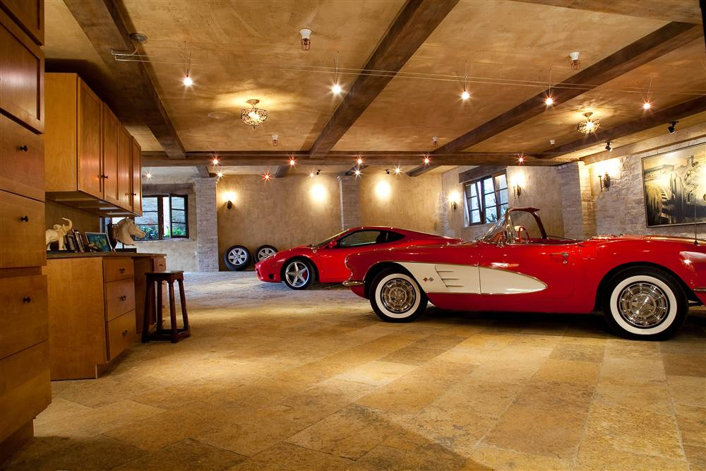 World 39 s most beautiful garages exotics insane garage for Luxury garage interiors