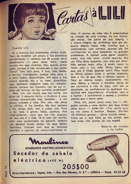 Crónica Feminina, Nº 466, Outubro 28 1965 - 70