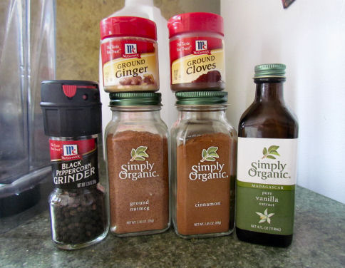 Chai Spices and Vanilla