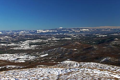 slovenija slovenia slavnik hiking landscape outdoor panorama