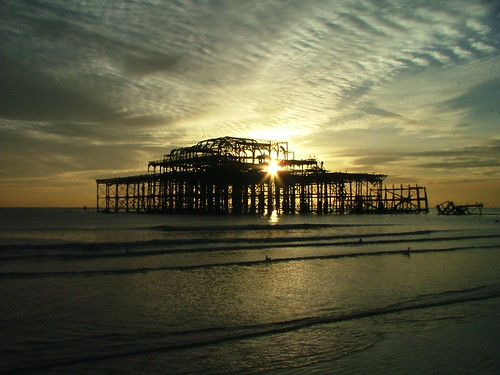 West Pier,Brighton,England