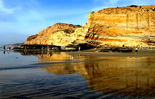 Torrey Pines State Park, San Diego, California's Best Geography,  Hiking by Flat Rock