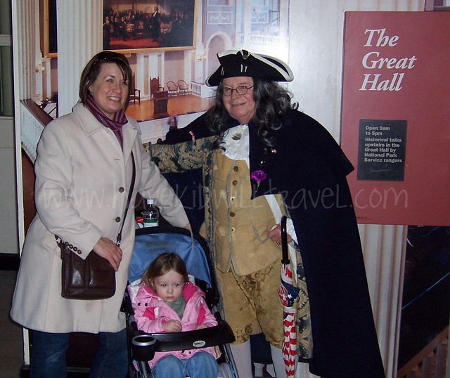 Meeting Ben Franklin in Boston