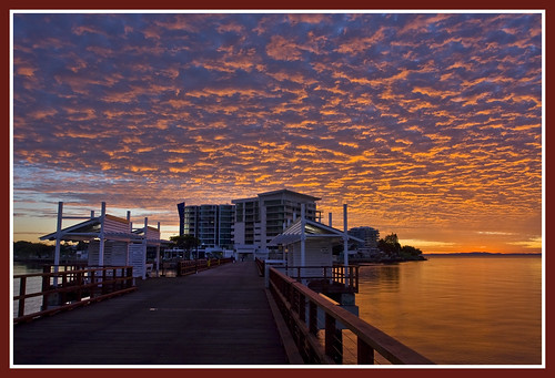 Woody Point Jetty Sunrise July09_01&