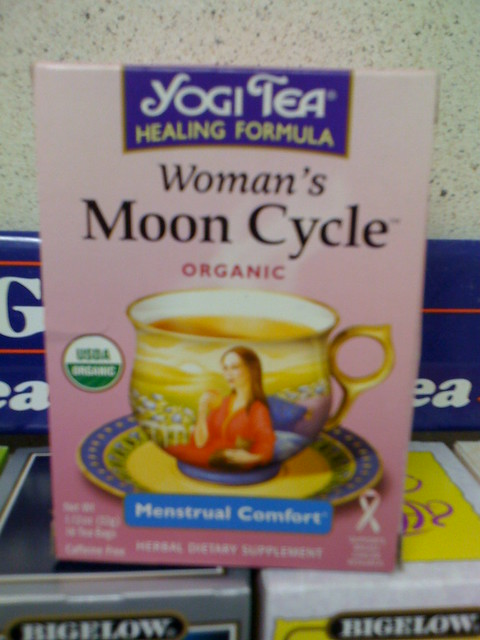 Women's Moon Cycle tea for Menstrual Comfort | Flickr - Photo Sharing!