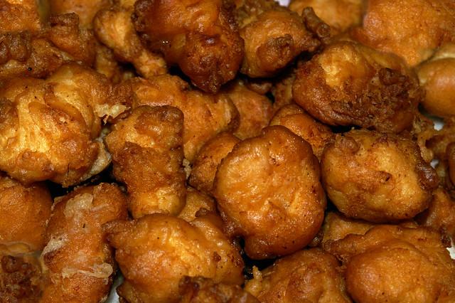 Golden puff batter chicken nuggets flickr photo sharing