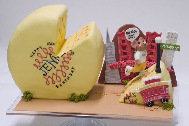 Cheese Lover Birthday Cake  Flickr - Photo Sharing!