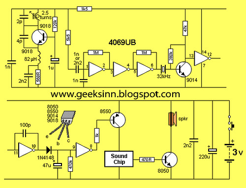 Flickriver most interesting photos tagged with circuitdiagram circuit for wireless doorbell receiver circuit cheapraybanclubmaster Gallery