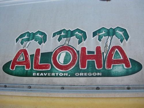 The Aloha logo