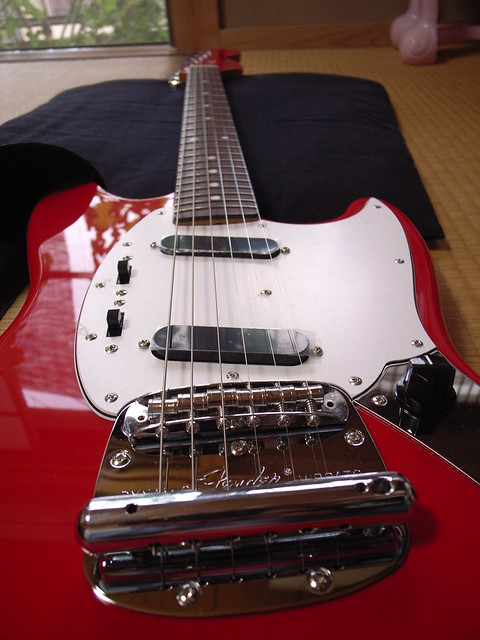 Photo:Fender Japan Mustang MG69 By matsuyuki