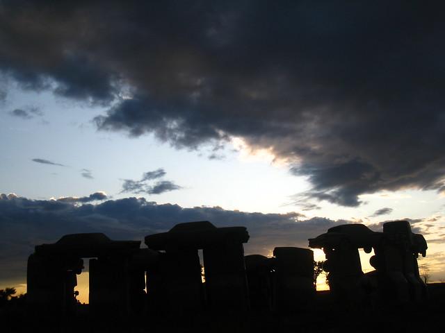 Carhenge @ Sunset