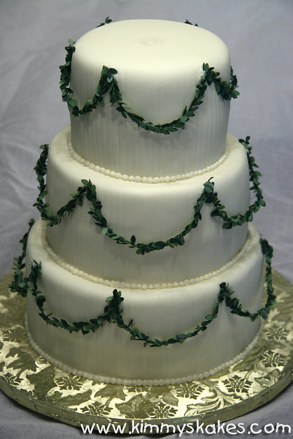 Martha Stewart Wedding Cake Pictures