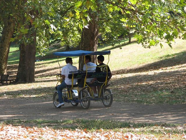 Park, Villa Borghese