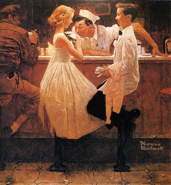 Norman Rockwell, art of ...