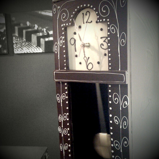 Working Grandfather Clock from Flickr via Wylio