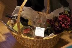 flower, gift basket, basket,